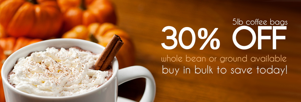 Coffee Deals for October